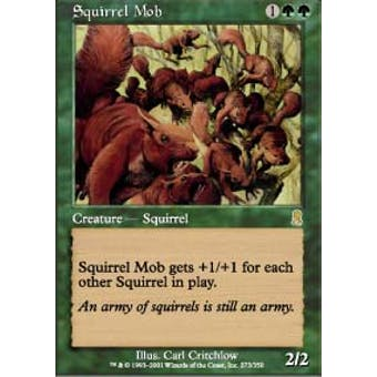 Magic the Gathering Odyssey Single Squirrel Mob - NEAR MINT (NM)
