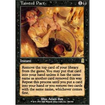 Magic the Gathering Odyssey Single Tainted Pact - SLIGHT PLAY (SP)