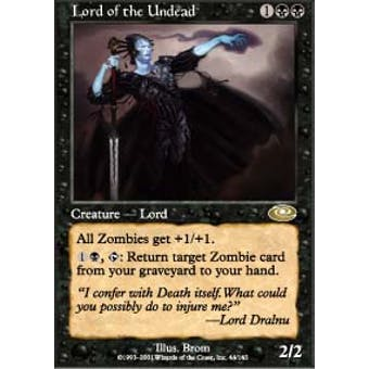 Magic the Gathering Planeshift Single Lord of the Undead - NEAR MINT (NM)