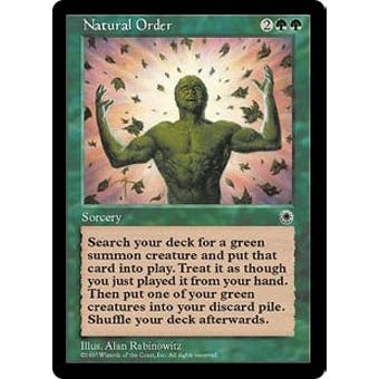 Magic the Gathering Portal 1 Single Natural Order - NEAR MINT (NM)
