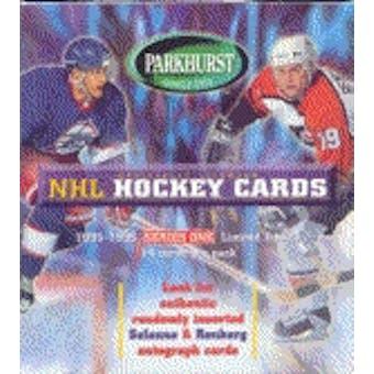 1995/96 Parkhurst Series 1 Hockey Hobby Box