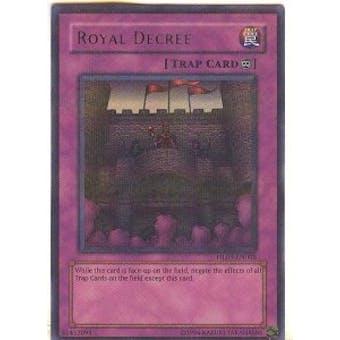 Yu-Gi-Oh Hobby League 3 Single Royal Decree Parallel Rare