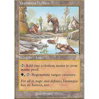 Magic the Gathering Urza's Destiny Single Yavimaya Hollow - SLIGHT PLAY (SP) Sick Deal Pricing