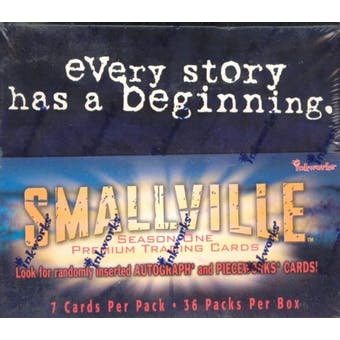 Smallville Season 1 Hobby Box (2002 InkWorks)