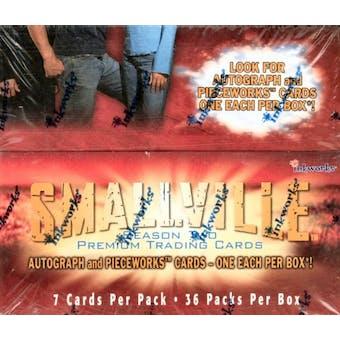 Smallville Season 2 Hobby Box (2003 InkWorks)