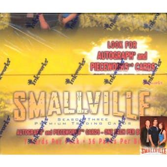 Smallville Season 3 Hobby Box (2004 InkWorks)