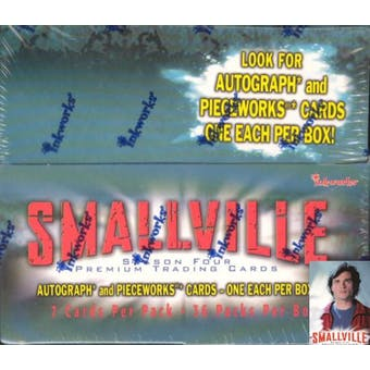 Smallville Season 4 Hobby Box (2005 InkWorks)