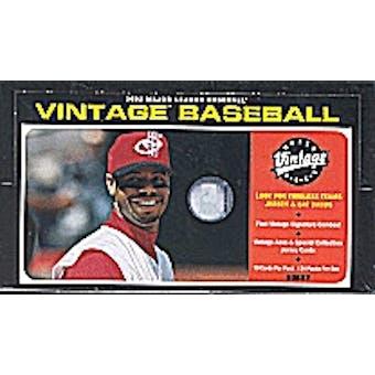 2002 Upper Deck Vintage Baseball Hobby Box