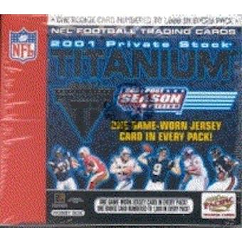 2001 Pacific Private Stock Titanium Postseason Football Hobby Box