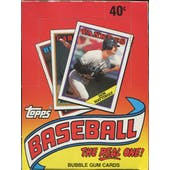 1988 Topps Baseball Wax Box (Reed Buy)