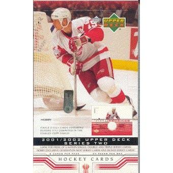 2001/02 Upper Deck Series 2 Hockey Hobby Box
