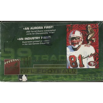 1999 Pacific Aurora Football Hobby Box