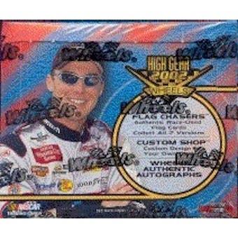 2002 Press Pass Wheels High Gear Racing Hobby Box