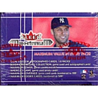 2002 Fleer Maximum Baseball Hobby Box