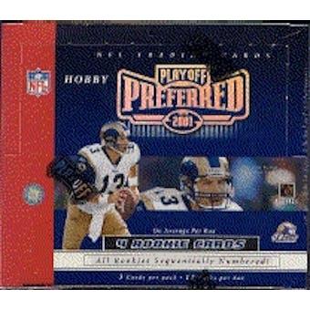 2001 Playoff Preferred Football Hobby Box