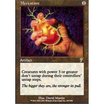 Magic the Gathering 7th Edition Single Meekstone Foil - SLIGHT PLAY (SP)