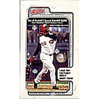 2002 Upper Deck Victory Baseball Hobby Box
