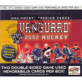 2001/02 Pacific Vanguard Hockey Hobby Box