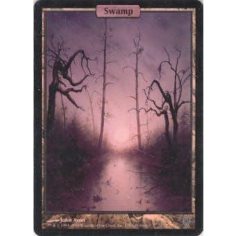 Magic the Gathering Unhinged Single Basic Swamp FOIL - NEAR MINT minus (NM-)