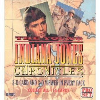 The Young Indiana Jones Chronicles Hobby Box (1992 Pro Set)