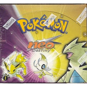 Pokemon Neo 4 Destiny 1st Edition Booster Box