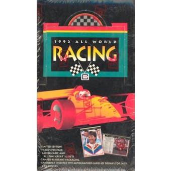 1992 All World Racing Hobby Box