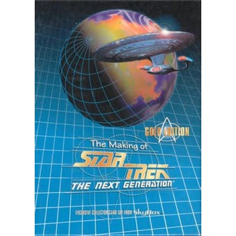 The Making of Star Trek: The Next Generation Gold Edition Set (1994 Skybox)