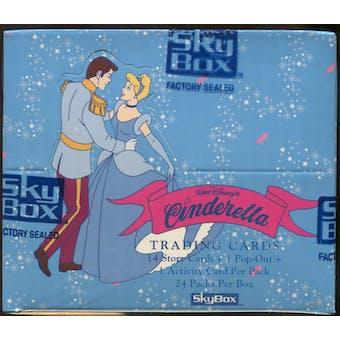 Disney's Cinderella Hobby Box (1995 Skybox) (Reed Buy)