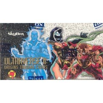 Ultraverse II: Origins Hobby Box (1994 Skybox)