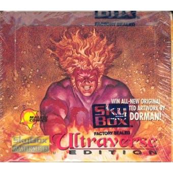 Ultraverse Edition: Skybox Master Series Hobby Box (1994 Skybox)