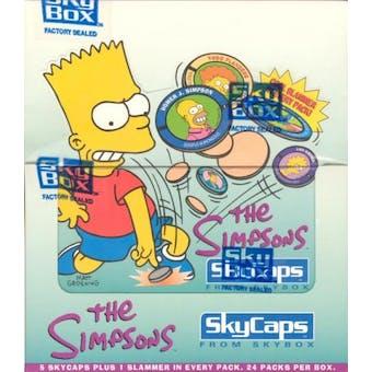 Simpsons Skycaps Hobby Box (1994 Skybox)