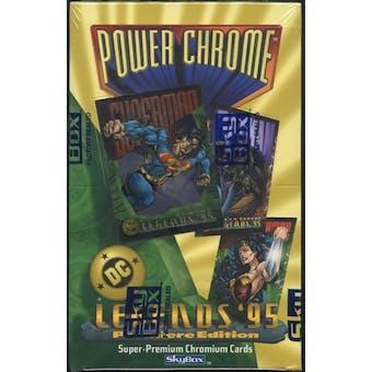 DC Legends '95 Power Chrome Hobby Box (1995 Skybox)