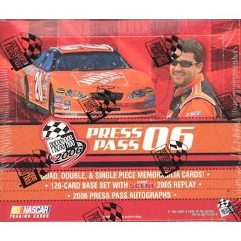 2006 Press Pass Racing Hobby Box