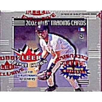 2002 Fleer Triple Crown Baseball Hobby Box