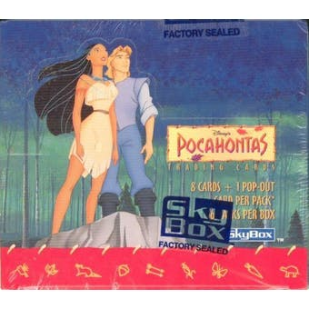 Disney's Pocahontas Hobby Box (1995 Skybox)