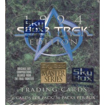 Star Trek Master Series (Series 2) Hobby Box (1994 Skybox) (Reed Buy)