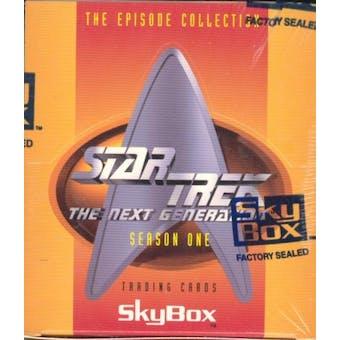 Star Trek: The Next Generation Season One Hobby Box (1994 Skybox)