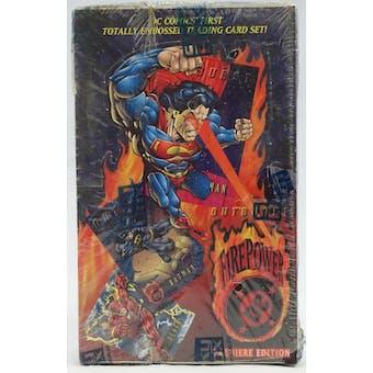 DC Outburst: FirePower Hobby Box (1996 Fleer/Skybox)