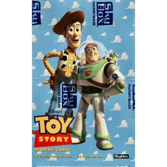 Toy Story Hobby Box (1995 Skybox) (Reed Buy)