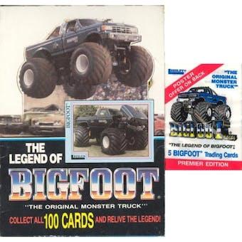Legend of Bigfoot Hobby Box (1988 Leesley)