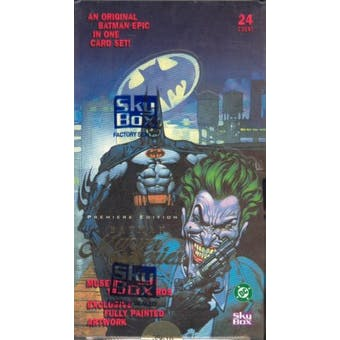 Batman Master Series Hobby Box (1996 Skybox)