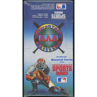 1990 Future Stars AAA Minor League Baseball Box