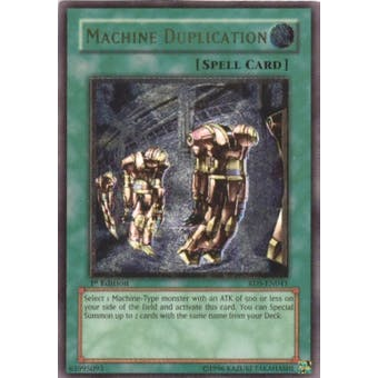 Yu-Gi-Oh Rise of Destiny Single Machine Duplication Ultimate Rare (RDS-041) - SLIGHT PLAY (SP)