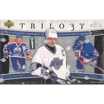 2005/06 Upper Deck Trilogy Hockey Hobby Box