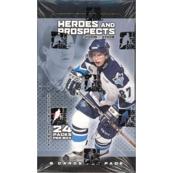 2005/06 In The Game Heroes & Prospects Arena Series 1 Hockey Box