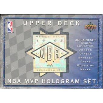1992/93 Upper Deck MVP Basketball Hologram Set