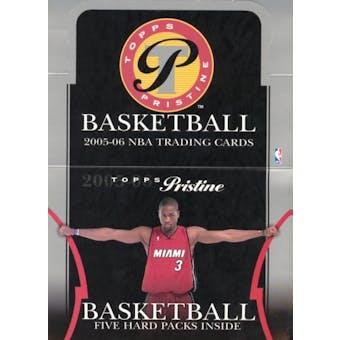 2005/06 Topps Pristine Basketball Hobby Box