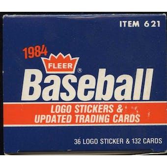 1984 Fleer Update Baseball Factory Set