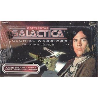 Battlestar Galactica Colonial Warriors Trading Cards Box (Rittenhouse 2006)