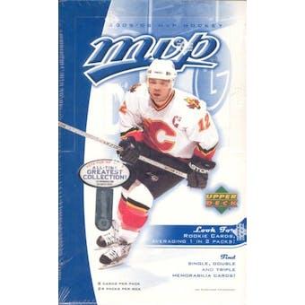 2005/06 Upper Deck MVP Hockey Hobby Box